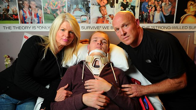 Payout blunder for Beau Vernon after football accident in Leongatha and Wonthaggi match | Herald Sun