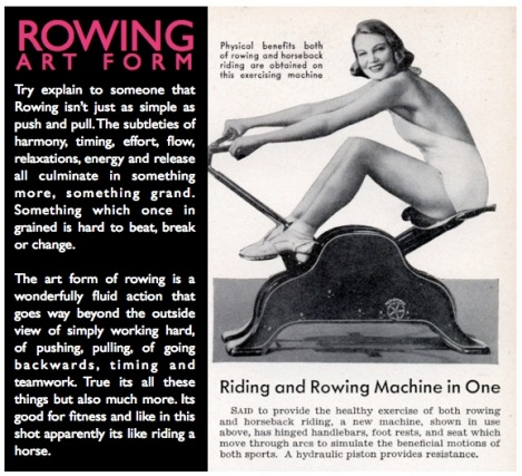 ROWING ART FORM